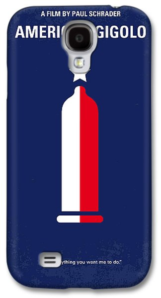 No150 My American Gigolo Minimal Movie Poster Galaxy S4 Case