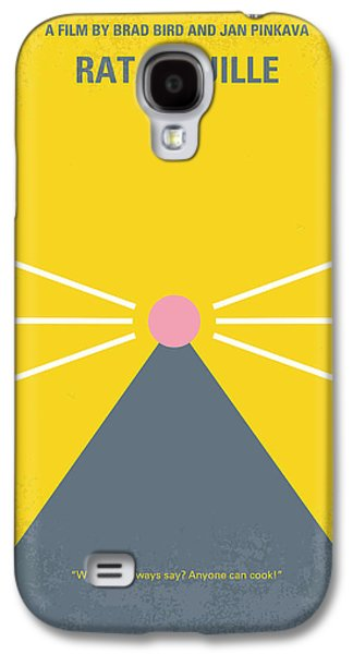 No163 My Ratatouille Minimal Movie Poster  Galaxy S4 Case by Chungkong Art