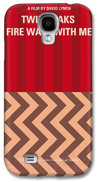 No169 My Fire Walk With Me Minimal Movie Poster Galaxy S4 Case