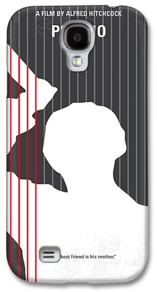 No185 My Psycho Minimal Movie Poster Galaxy S4 Case by Chungkong Art