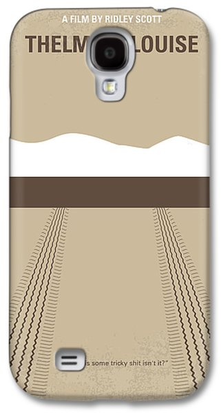 No189 My Thelma And Louise Minimal Movie Poster Galaxy S4 Case by Chungkong Art