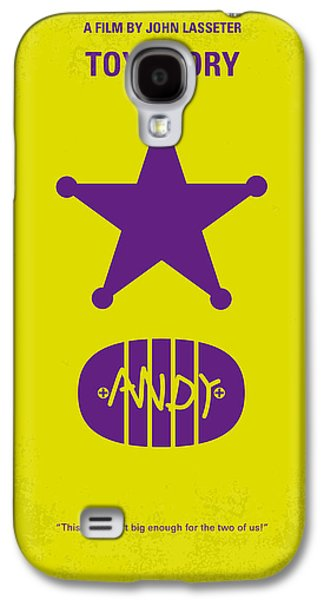 No190 My Toy Story Minimal Movie Poster Galaxy S4 Case by Chungkong Art