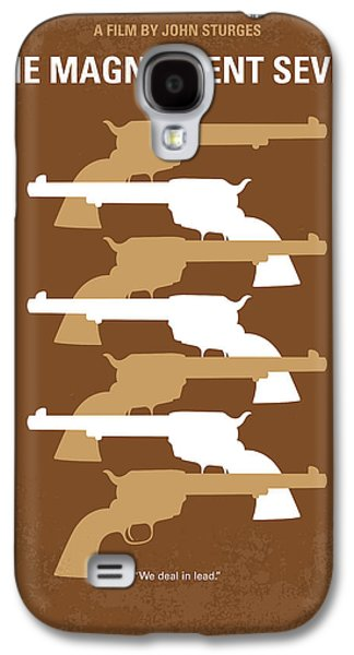 No197 My The Magnificent Seven Minimal Movie Poster Galaxy S4 Case by Chungkong Art