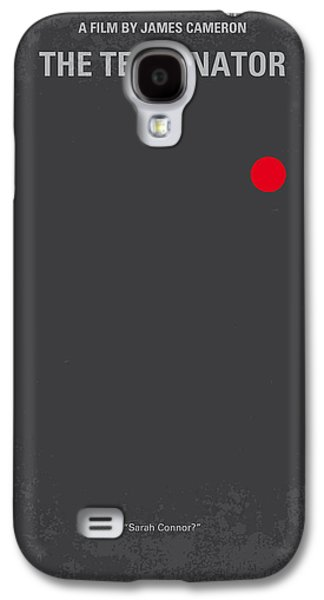 No199 My Terminator Minimal Movie Poster Galaxy S4 Case by Chungkong Art