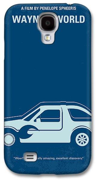 No211 My Waynes World Minimal Movie Poster Galaxy S4 Case by Chungkong Art