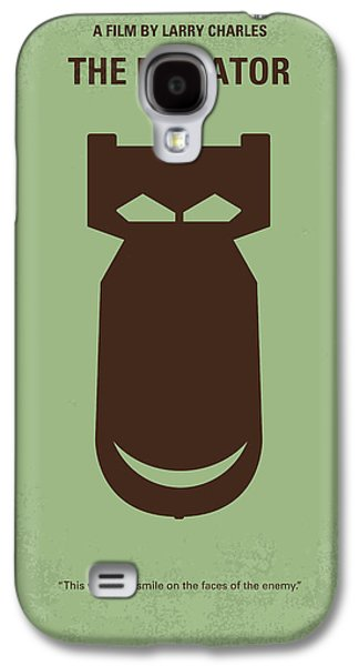 No212 My The Dictator Minimal Movie Poster Galaxy S4 Case by Chungkong Art