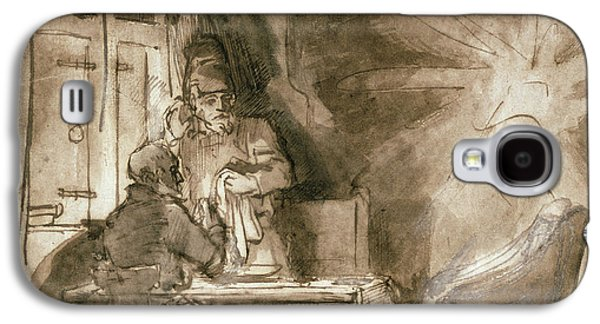No.2139 Supper At Emmaus, C.1648-9 Galaxy S4 Case by Rembrandt Harmensz. van Rijn