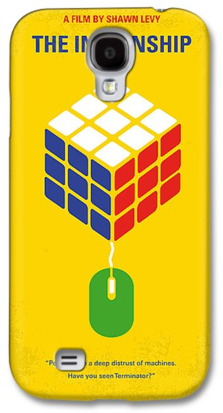 No215 My The Internship Minimal Movie Poster Galaxy S4 Case by Chungkong Art