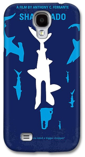 Sharks Galaxy S4 Case - No216 My Sharknado Minimal Movie Poster by Chungkong Art