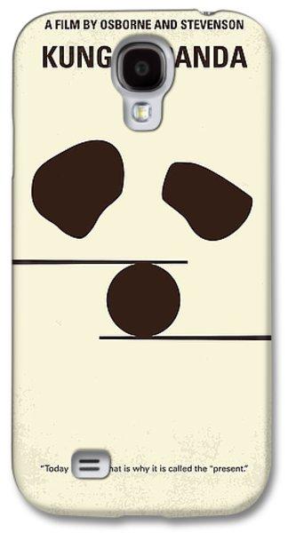 No227 My Kung Fu Panda Minimal Movie Poster Galaxy S4 Case