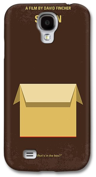 No233 My Seven Minimal Movie Poster Galaxy S4 Case by Chungkong Art