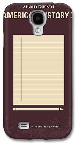 No247 My American History X Minimal Movie Poster Galaxy S4 Case