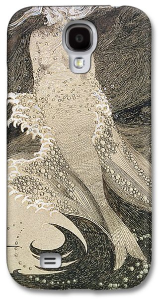 The Mermaid Galaxy S4 Case by Sidney Herbert Sime