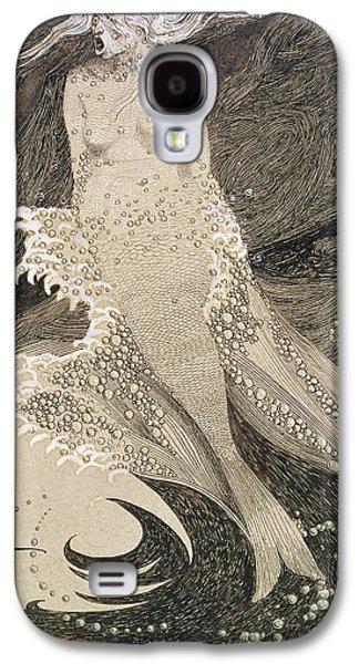 The Mermaid Galaxy S4 Case by Sidney Herbert Sime