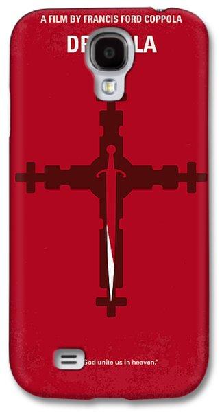 No263 My Dracula Minimal Movie Poster Galaxy S4 Case