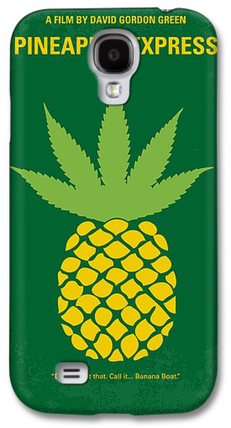 No264 My Pineapple Express Minimal Movie Poster Galaxy S4 Case by Chungkong Art