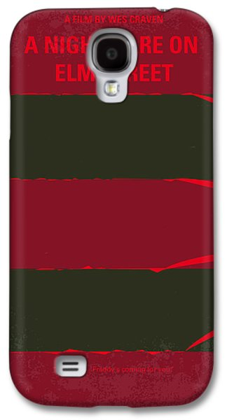 No265 My Nightmare On Elmstreet Minimal Movie Poster Galaxy S4 Case by Chungkong Art