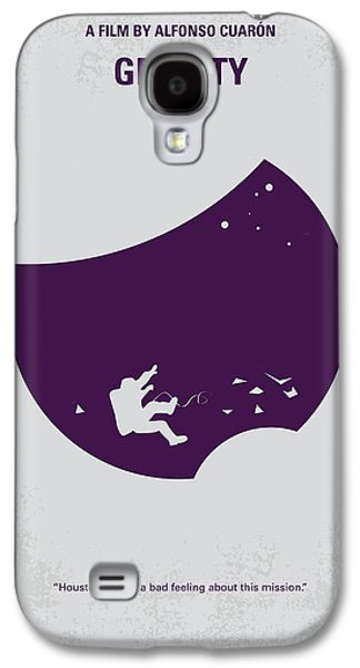 No269 My Gravity Minimal Movie Poster Galaxy S4 Case by Chungkong Art
