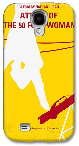No276 My Attack Of The 50 Foot Woman Minimal Movie Poster Galaxy S4 Case by Chungkong Art