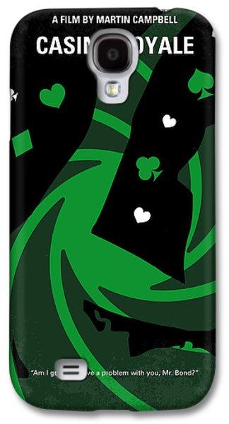 No277-007-2 My Casino Royale Minimal Movie Poster Galaxy S4 Case by Chungkong Art