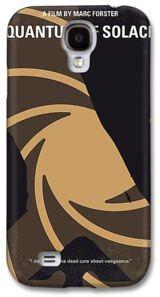 No277-007-2 My Quantum Of Solace Minimal Movie Poster Galaxy S4 Case by Chungkong Art