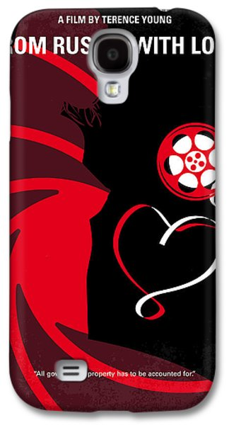 No277-007 My From Russia With Love Minimal Movie Poster Galaxy S4 Case by Chungkong Art