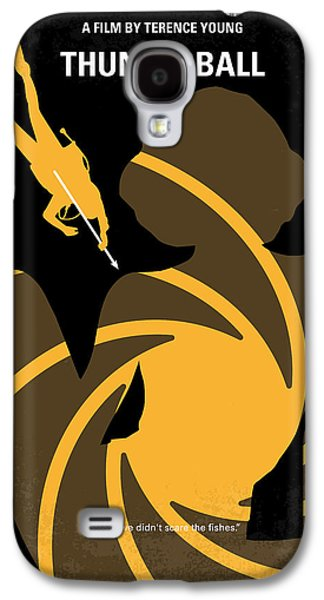 No277-007 My Thunderball Minimal Movie Poster Galaxy S4 Case by Chungkong Art