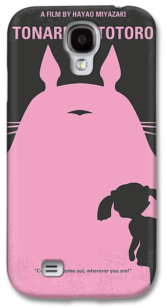 No290 My My Neighbor Totoro Minimal Movie Poster Galaxy S4 Case by Chungkong Art