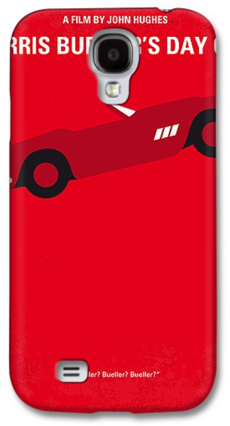 No292 My Ferris Bueller's Day Off Minimal Movie Poster Galaxy S4 Case
