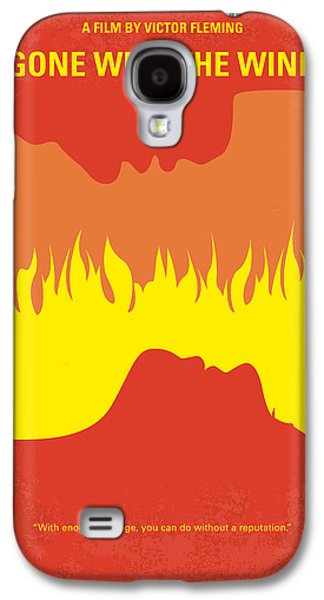 No299 My Gone With The Wind Minimal Movie Poster Galaxy S4 Case by Chungkong Art