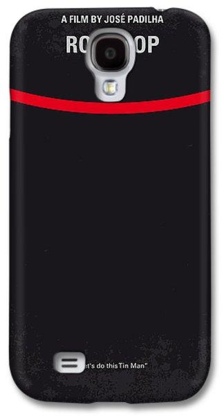 No303 My Robocop Minimal Movie Poster Galaxy S4 Case by Chungkong Art