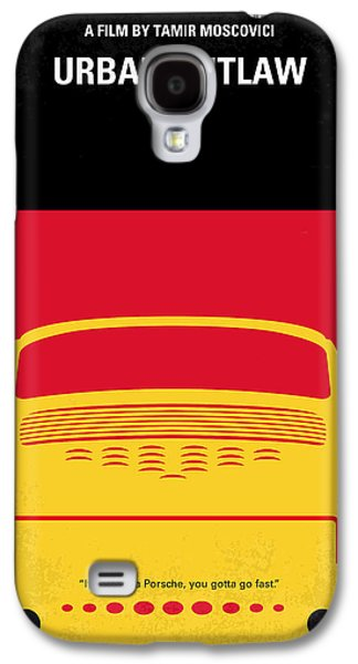 No316 My Urban Outlaw Minimal Movie Poster Galaxy S4 Case by Chungkong Art