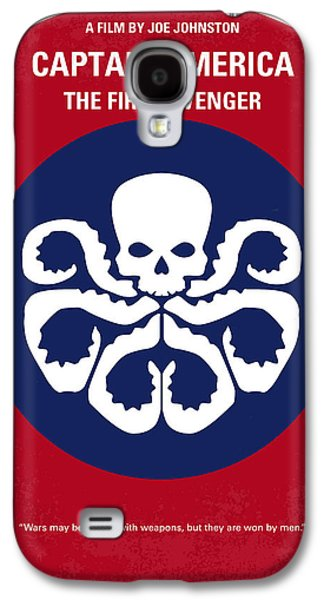 No329 My Captain America - 1 Minimal Movie Poster Galaxy S4 Case