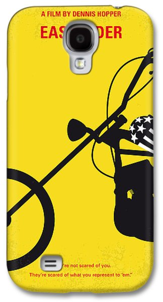 No333 My Easy Rider Minimal Movie Poster Galaxy S4 Case by Chungkong Art