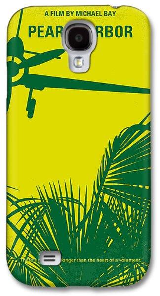 No335 My Pearl Harbor Minimal Movie Poster Galaxy S4 Case