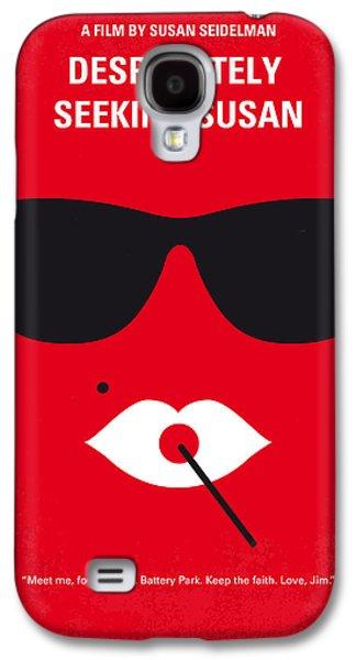 No336 My Desperately Seeking Susan Minimal Movie Poster Galaxy S4 Case by Chungkong Art