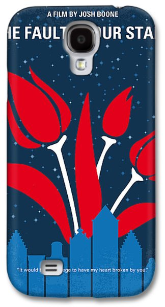 No340 My The Fault In Our Stars Minimal Movie Poster Galaxy S4 Case by Chungkong Art