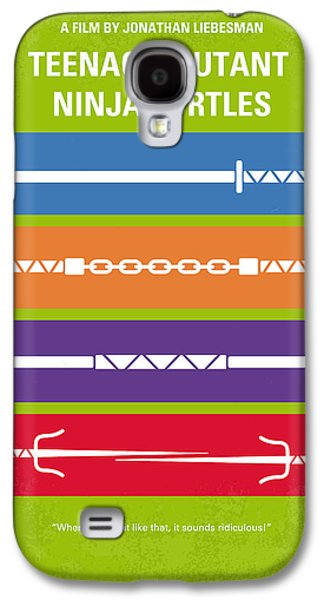 No346 My Teenage Mutant Ninja Turtles Minimal Movie Poster Galaxy S4 Case by Chungkong Art