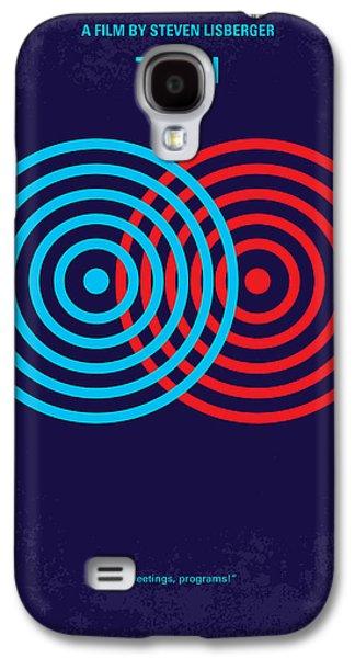 No357 My Tron Minimal Movie Poster Galaxy S4 Case