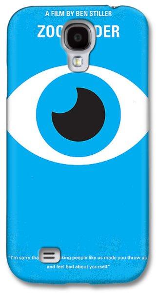 No362 My Zoolander Minimal Movie Poster Galaxy S4 Case by Chungkong Art