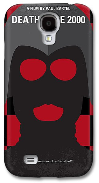 No367 My Death Race 2000 Minimal Movie Poster Galaxy S4 Case by Chungkong Art