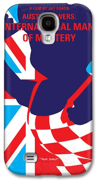 No373 My Austin Powers I Minimal Movie Poster Galaxy S4 Case by Chungkong Art