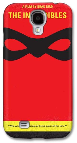 No368 My Incredibles Minimal Movie Poster Galaxy S4 Case