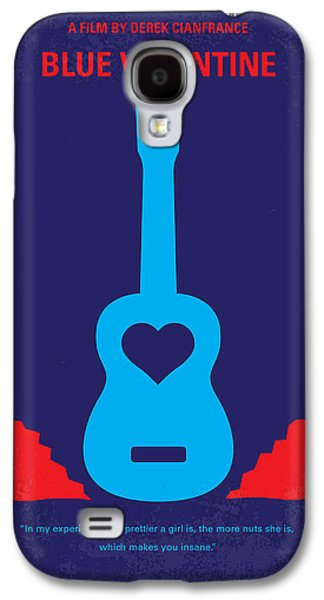 No379 My Blue Valentine Minimal Movie Poster Galaxy S4 Case by Chungkong Art