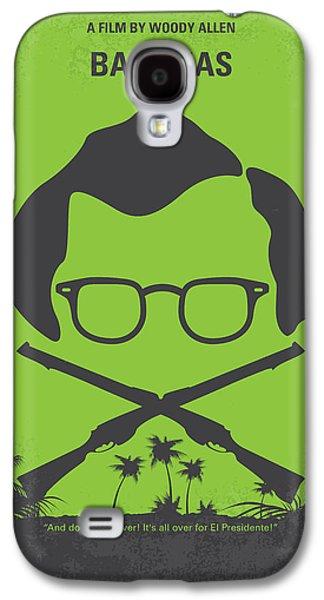 No375 My Bananas Minimal Movie Poster Galaxy S4 Case by Chungkong Art
