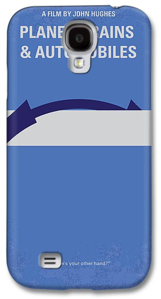 Train Galaxy S4 Case - No376 My Planes Trains And Automobiles Minimal Movie Poster by Chungkong Art