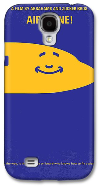 No392 My Airplane Minimal Movie Poster Galaxy S4 Case by Chungkong Art