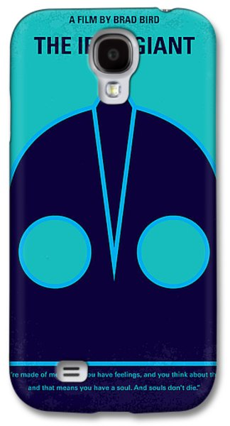 No406 My The Iron Giant Minimal Movie Poster Galaxy S4 Case