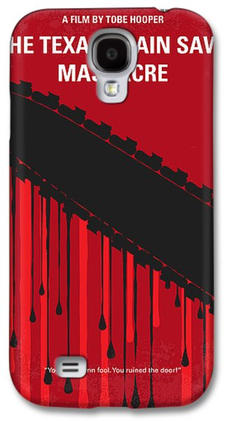 No410 My The Texas Chain Saw Massacre Minimal Movie Poster Galaxy S4 Case by Chungkong Art