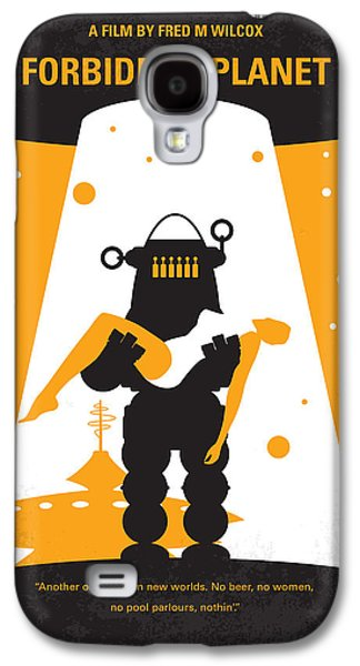 No415 My Forbidden Planet Minimal Movie Poster Galaxy S4 Case